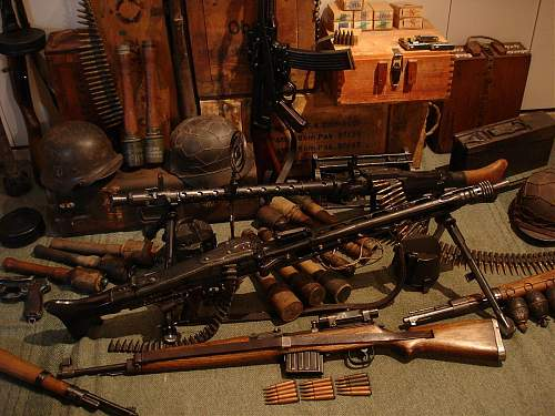 My gun collection - Display ideas.