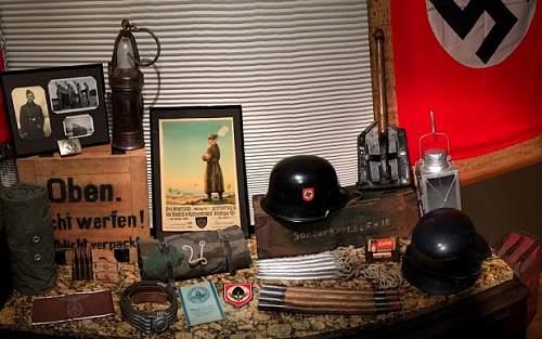 Display ideas, ***Helmets*** medals etc...
