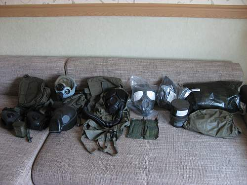 My US chemical-protective collection