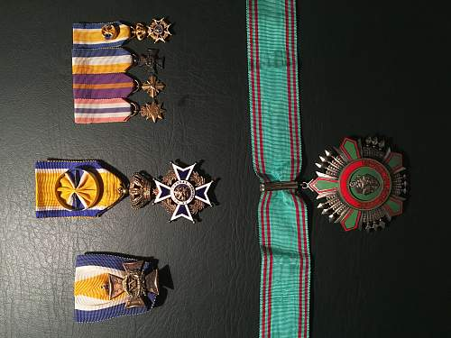 My Medal and Coin collection