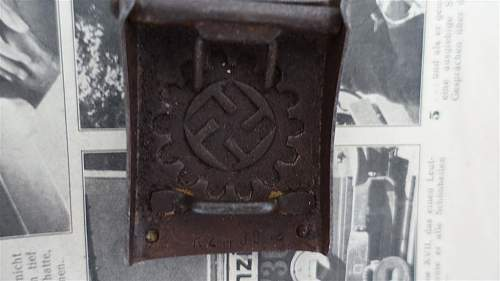 Fake DAF Buckles