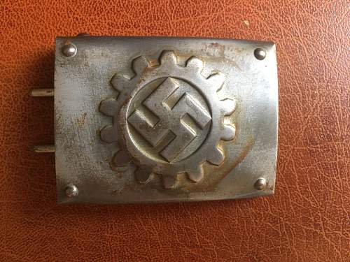 Is this DAF buckle fake?