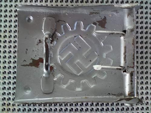 DAF Buckle Steel