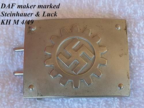 DAF Buckle Makers