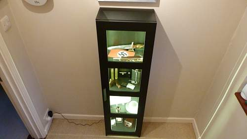 First Post, LED Cabinet