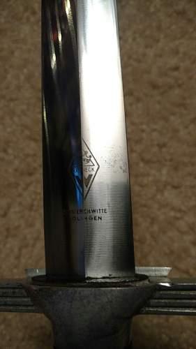 EM RLB Dagger fresh from the Max