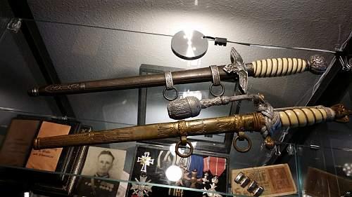 Kriegsmarine and Luftwaffe daggers
