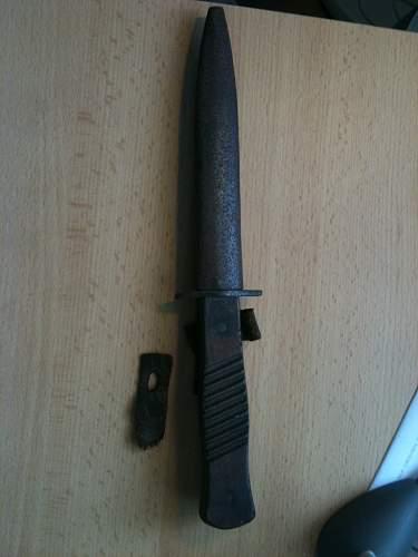 WW1 Trench knife help