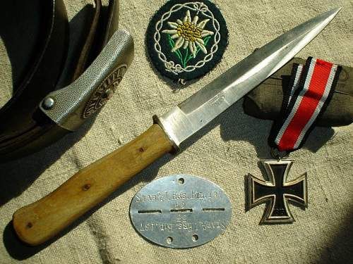 Puma fighting-knife