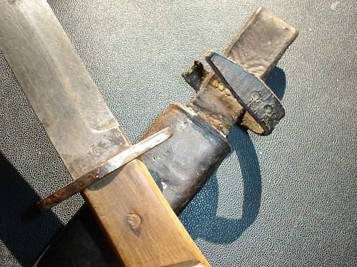 german fighting knife