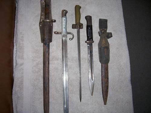 Bayonet ids needed