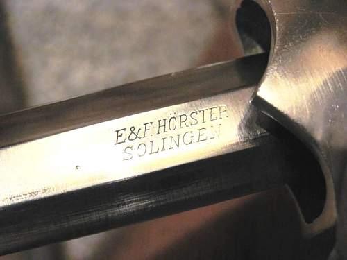 Bahnschutz - 2nd Model Railway Dagger - E & F Horster