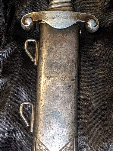 RAD Officers dagger - Alcoso