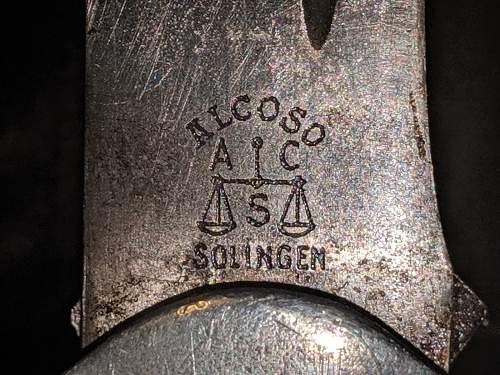RAD Officers dagger - Alcoso