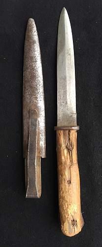 German fighting knife ID help