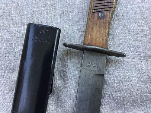Another fighting knife