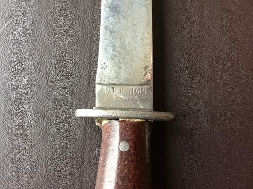Puma boot knife