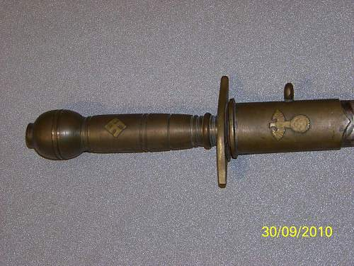 Help Needed to identify 3rd Reich Dagger