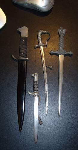 WW2 German Letter Openers HELP WANTED