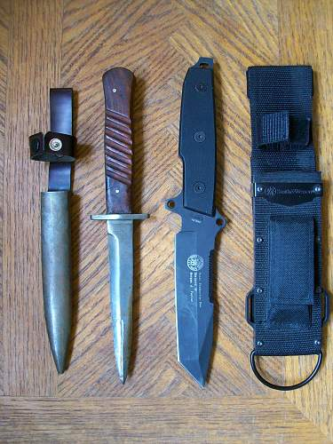 Help on this unusual German trench knife!