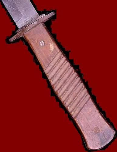 German Trench Knife - WW1 or WW2 ?