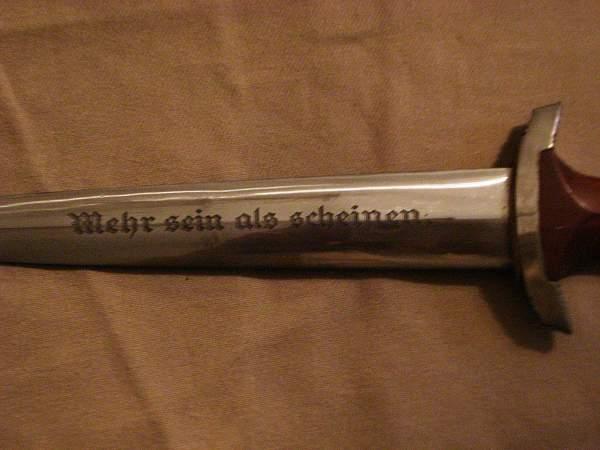 NPEA officer's dagger?