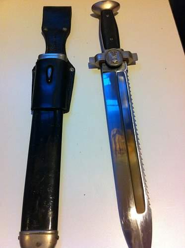 Dagger identification