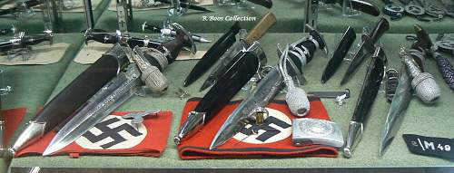 Care and display of daggers
