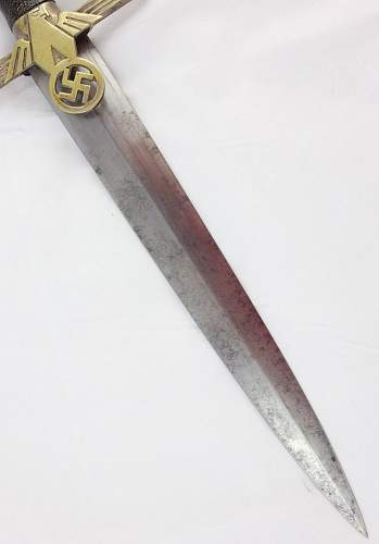 Need opinions on an RLB Leader Dagger...