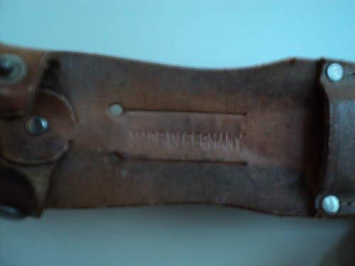 knife maker Emil Voos