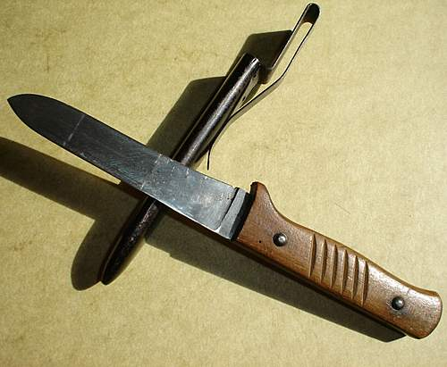 More a utility, than a fighting knife ...