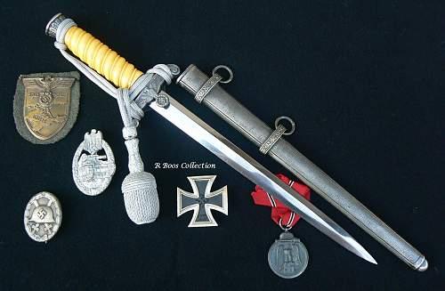 Luftwaffe, Heer, and Kriegsmarine Logo rarity