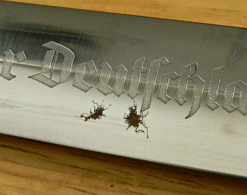 Periodic Edged Weapon Maintenance