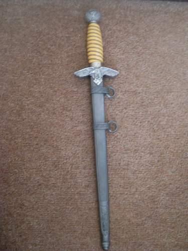 waffen ss pen knife/luftwaffe dagger