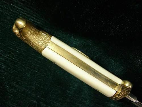 German (Romanian) dagger genuine or a fantasy piece?