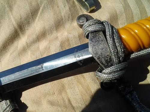 Early Officer dagger? SA dagger? Rich.A.Herder