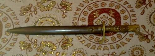 Identify bayonet