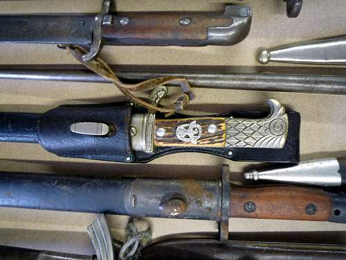 Daggers and Sword at Auction tomorrow 7/15