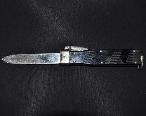 German WWII pioneer knife - original or post war?
