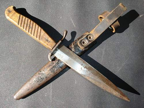 Ww2 german boot knife ??? Unknown maker ??