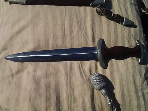 German daggers, local picks