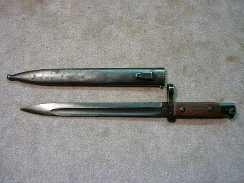 Austrian :M-95 and Polish Bayonet