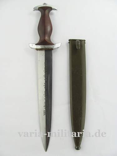 NAPOLA Dagger with Graduation Term, Wien Theresianum 1942