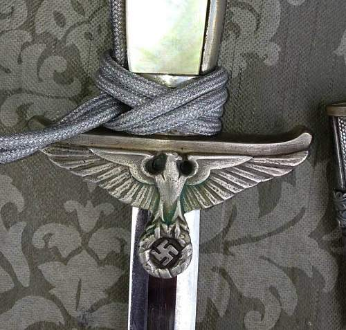 need your opinion for this  diplomatic dagger