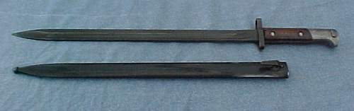 Unknown bayonet. German?