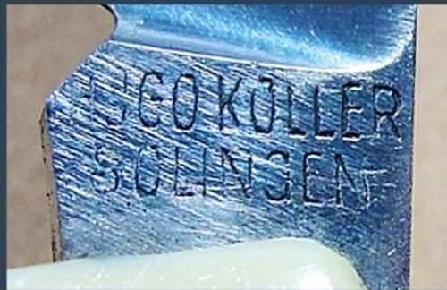 Deutchland Erwache Pocket knife??