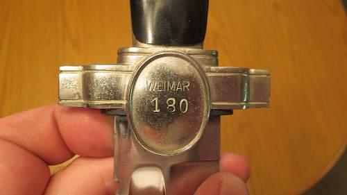 SOS numbered (DRK) Hewer find