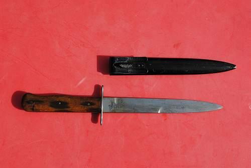 German Boot Knife