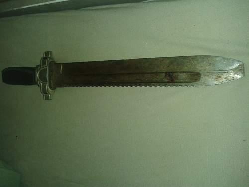 German Knife/ Red Cross Hewer