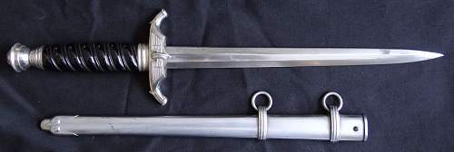 Need opinions on this 2nd model Railway Dagger...